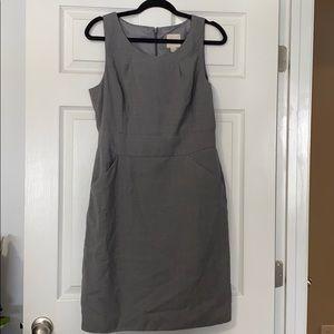 J.Crew gray suit dress